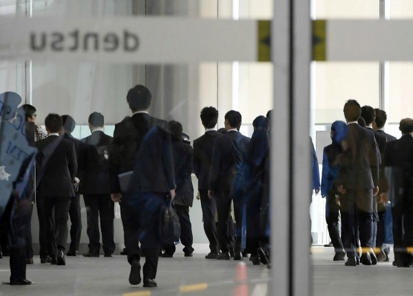 Japanese government raids dentsu in investigation of for Advertising agency tokyo