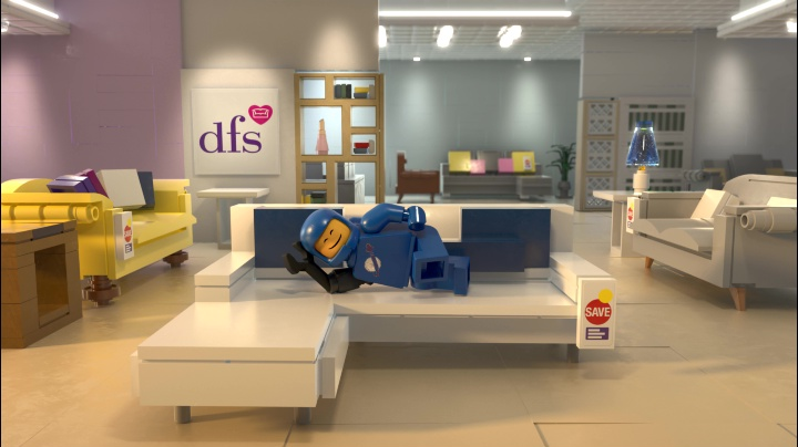 Admirable Dfs Ties Into The Lego Movie 2 With Spot From London Caraccident5 Cool Chair Designs And Ideas Caraccident5Info