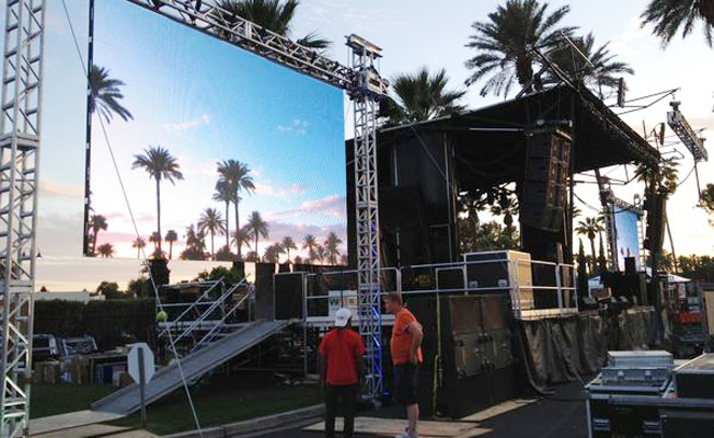 Major National Event Production Company S Equipment To Be