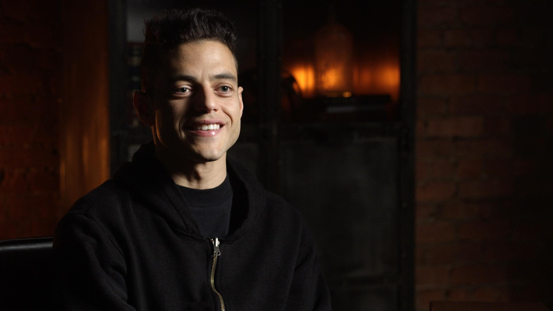 Behind The Scenes Interview With Rami Malek For Mr Robot Season 3 Shootonline