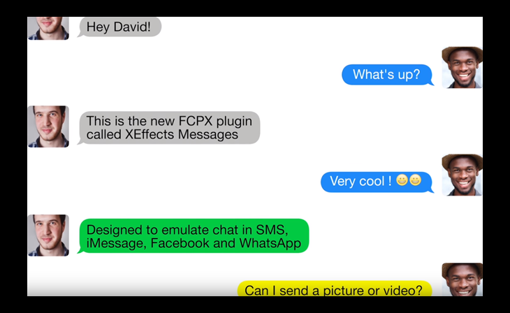 FxFactory Launches XEffects Messages for Final Cut Pro X