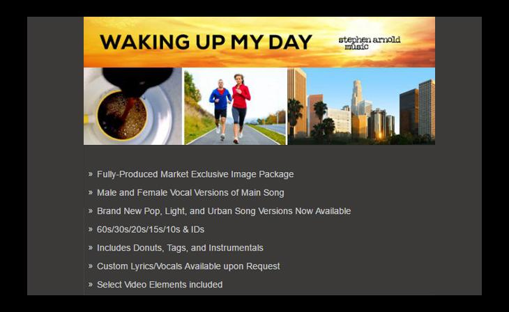 """Stephen Arnold Music Builds On Success Of """"Waking Up My Day"""