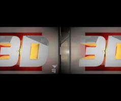 Stereoscopic 3-D Branding Package for ESPN 3D