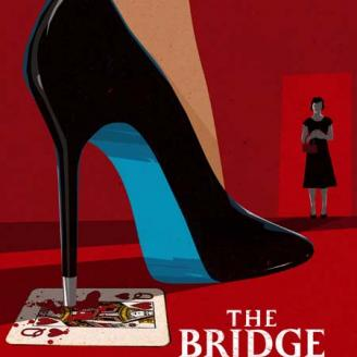 "Poster for Gabriel Olson's ""The Bridge Partner"""