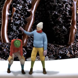 Chili's Oreo Topped Molten Cake