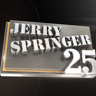 Jerry Springer 25th Season Graphics