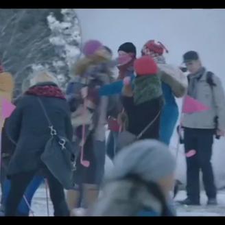 "T-Mobile's ""Snow Golf"""