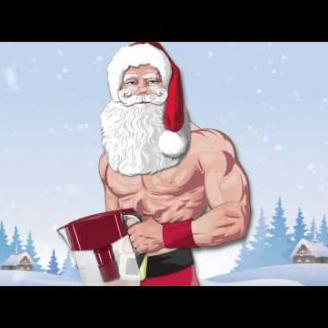 "DDB California puts ""Slim Santa"" under Xmas tree for Brita"