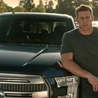 J. J. Watt for Ford Trucks