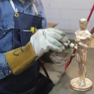 Making of The Oscar Statue