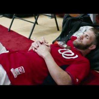 Bryan Buckley Directs Athletes At Rest For Gatorade, TBWA\Chiat\Day