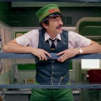 "Wes Anderson, Adrien Brody Board Holiday Train For H&M Short ""Come Together"""