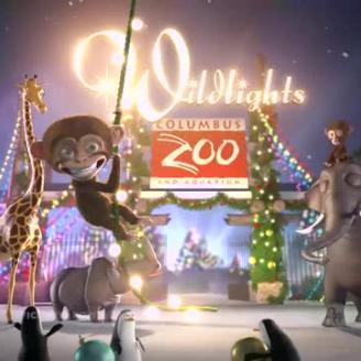 Ron Foth Advertising, Dreamlife Filmworks Light Up Columbus Zoo