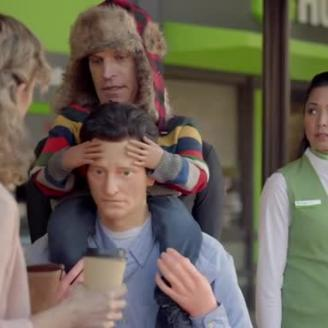 "Arnold Worldwide Dons ""Toddler"" Costume For Huntington Bank"