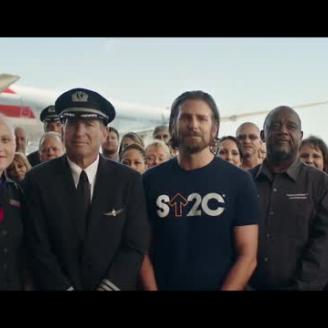 CP+B, Director Vincent Haycock, Bradley Cooper Stand Up To Cancer For American Airlines