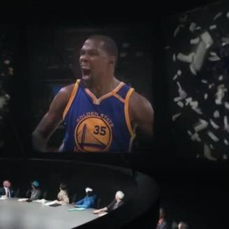 "Tim Godsall Directs Kevin Durant In ""Debate This"" For Nike, W+K"