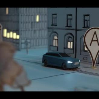 "Norwegian Agency POL Tells ""Electric Story"" For Audi"
