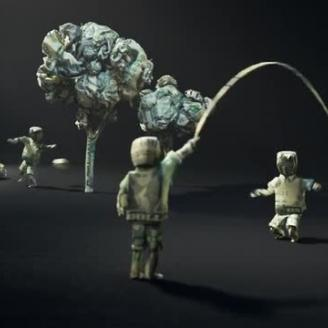 "Publicis NY, The Mill Create ""Origami"" For War Child USA"