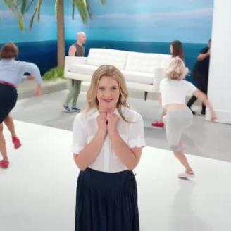 "Hungry Man, R/GA Team On ""Crocs: The Musical"" Starring Drew Barrymore"