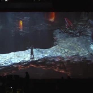"BBH NY, PlayStation Team On NBA Halftime Show: ""God of War: War on the Floor"""
