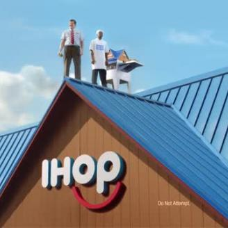 Droga5, PRETTYBIRD Director Eric Wareheim Shout From The Rooftop As IHOP Becomes IHOb