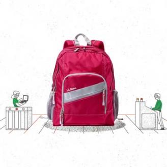 Legwork Puts L.L.Bean Backpacks To The Test In Animated Ad