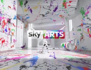 "MPC, Director Adam Wells Create ""Dog"" Identity For Sky Arts"