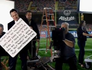 Allstate's 'Chairman's Cue Card Trouble'