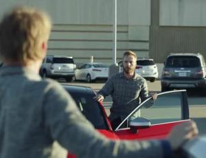 "Director Steve Rogers, Venables Bell & Partners Meet In ""Parking Lot"" For Audi Holiday Spot"