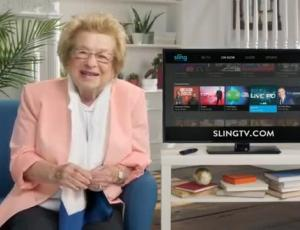 "The Martin Agency Goes ""Slinging With Dr. Ruth"""