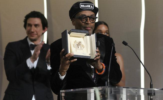 Image result for blackkklansman grand prix cannes 2018