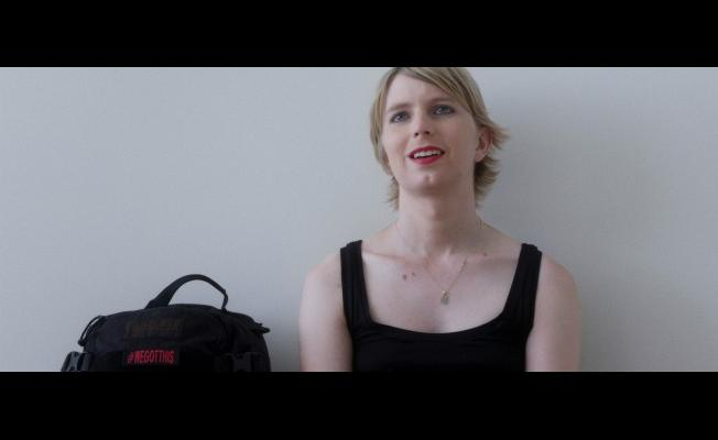 Chelsea Manning in a scene from