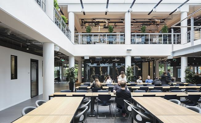 Netflixs New EMEA HQ In Amsterdam Can Be Accessed Via The Netflix Media Centre Photo Credit Stijnstijl Fotografie
